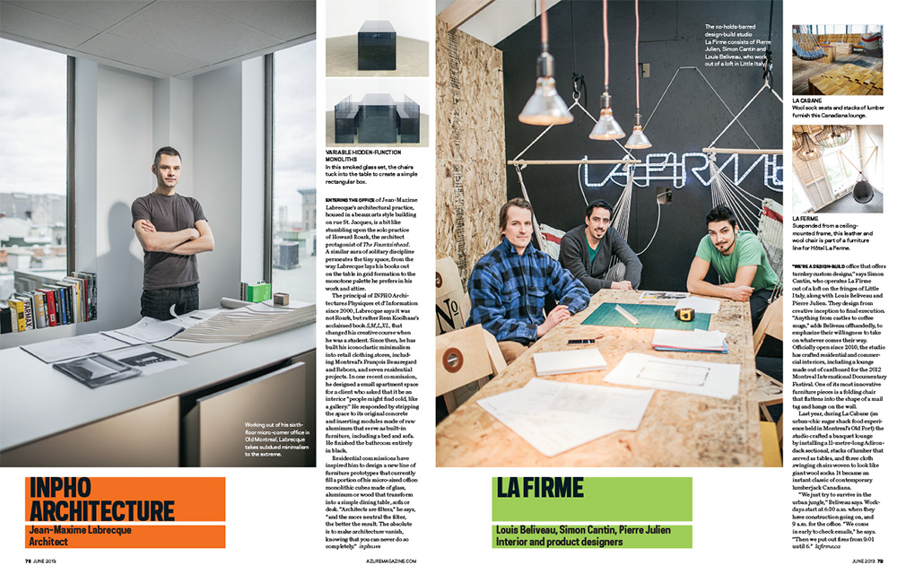 4 Montreal Design Firms Will Lew